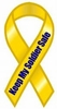 "Keep My Soldier Safe Extra Large Ribbon Magnet 5"" x 11"""