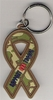 Key Tag Camouflage Support Our Troops