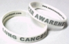 Lung Cancer Awareness Bracelets