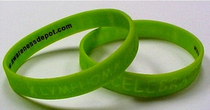 Lymphoma Awareness Silicone Bracelet