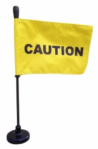 Magnetic Caution Flag