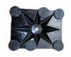 Magnetic Industrial Base 6 with Rubber Mounts