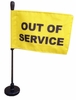 "Magnetic ""Out of Service"" Flag"