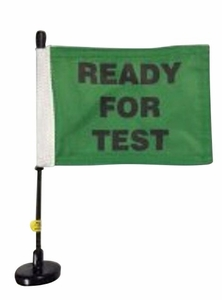 Magnetic Ready For Test Flag