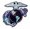 Marine 3D Reflective Insignia Decal
