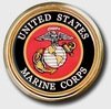 Marine Seal Chrome Automobile Emblem