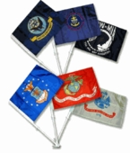 Military Car Flags