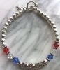 Patriotic Mom Custom Bracelet