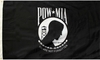 POW-MIA 3X5 Outdoor 2-Ply Flag