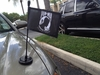 POW*MIA Magnetic Car Flag