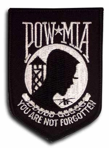 POW/MIA Shield Patch
