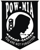 POW-MIA Sticker