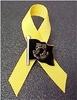 POW-MIA Yellow Ribbon Flag  Pin