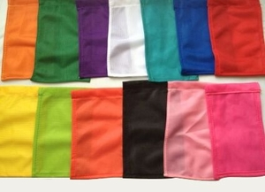 """Replacement Flag for Magnetic Poles 4"""" x 6"""" assorted colors"""