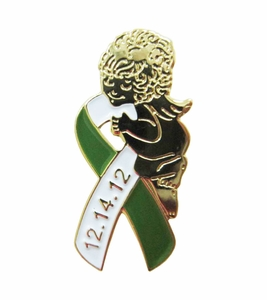 Sandy Hook Remembrance Angel Pin