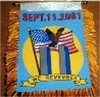September 11th Commemorative Mini Banner