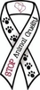 Stop Animal Cruelty Ribbon Magnet