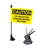 Suction Mount Flags