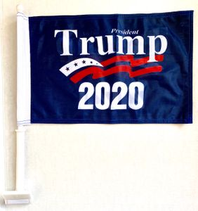 Trump 2020 Car Window Flag