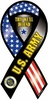 "U.S. Army Ribbon Magnet- This We'll Defend 4""x8"""