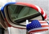 USA Flag Auto Mirror Covers