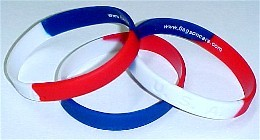 USA Red White and Blue Bracelet Child Size