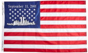 World Trade Center Commemorative 3'x5' 9/11 Flag