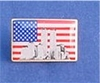 World Trade Center Flag Pin
