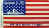 WTC Commemorative Flag Stickers (1 dozen)