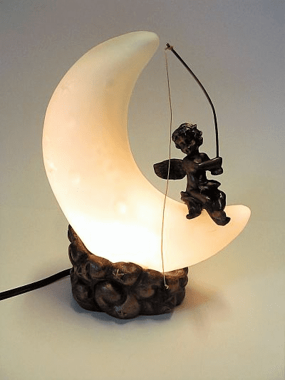 Angel on the Moon Memory Lamp™