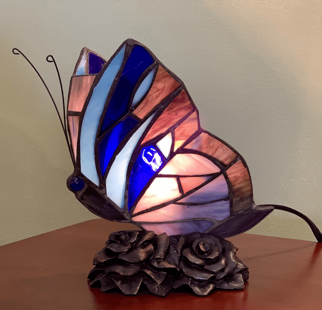 Blue Butterfly Memory Lamp™