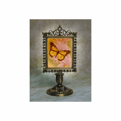 Color Butterfly Victorian Memory Lamp