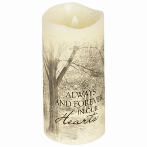 Forever in our Hearts Flameless Candle