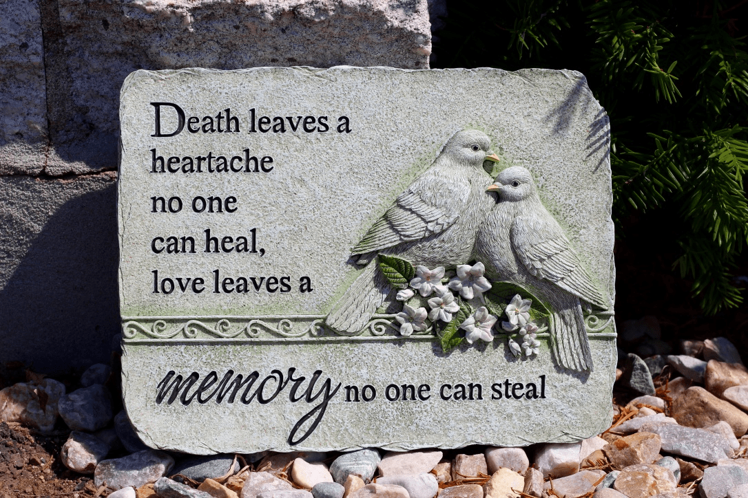Garden Stone Memory No One Can Steal