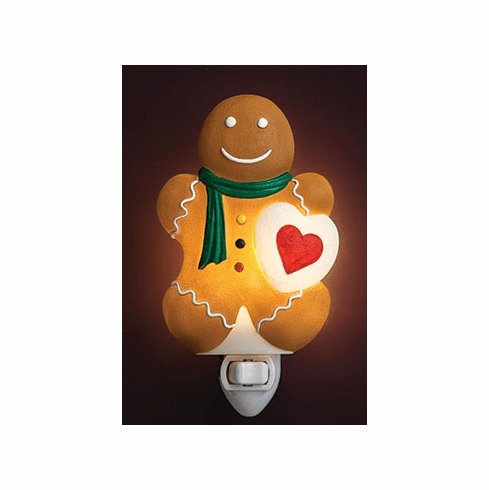 Gingerbread Boy Night Light