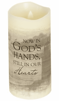 Gods Hand Flameless Candle