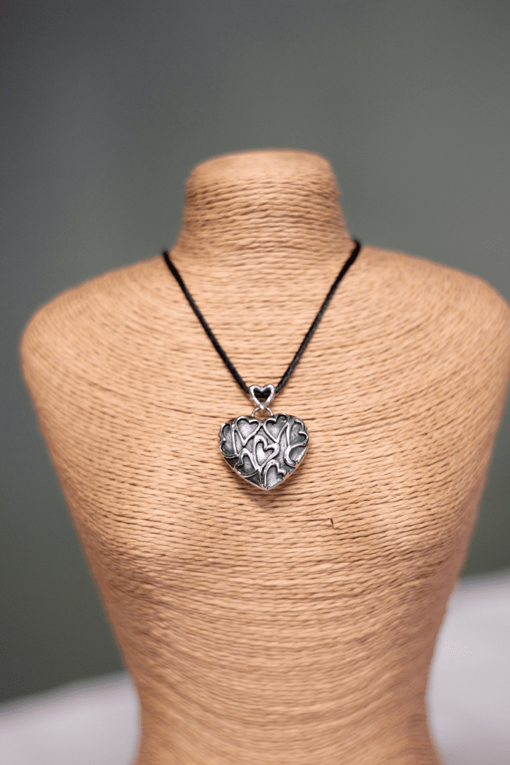 Heart of Hearts Cremation Necklace