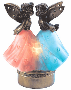 Kissing Angel Memory Lamp™