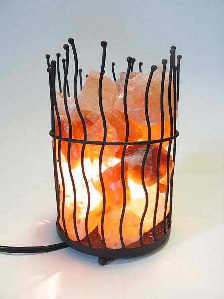 Large Salt Lamp Basket