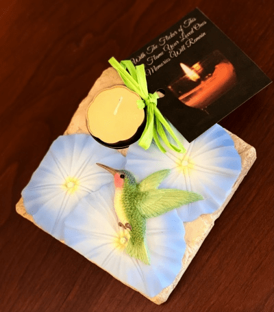 Remembrance Candle - Hummingbird
