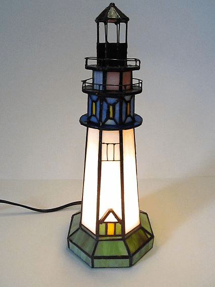 Tiffany Lighthouse Memory Lamp™