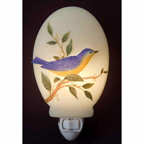 Warbler on Sweet Olive Night Light