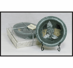 Wax Pottery Bowl - Evergreen