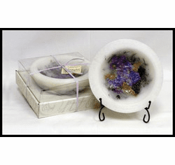 Wax Pottery Bowl - Lilac Blossom