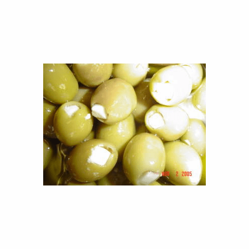 GREEN OLIVES STUFFED WITH PROVOLONE CHEESE