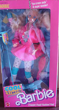 1988 Cool Times Barbie Doll #3022