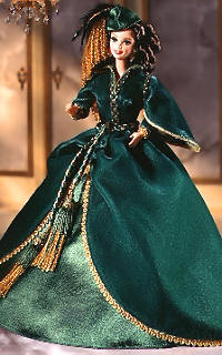 BARBIE DOLL 1994 HOLLYWOOD LEGENDS COLLECTION SCARLETT O/'HARA