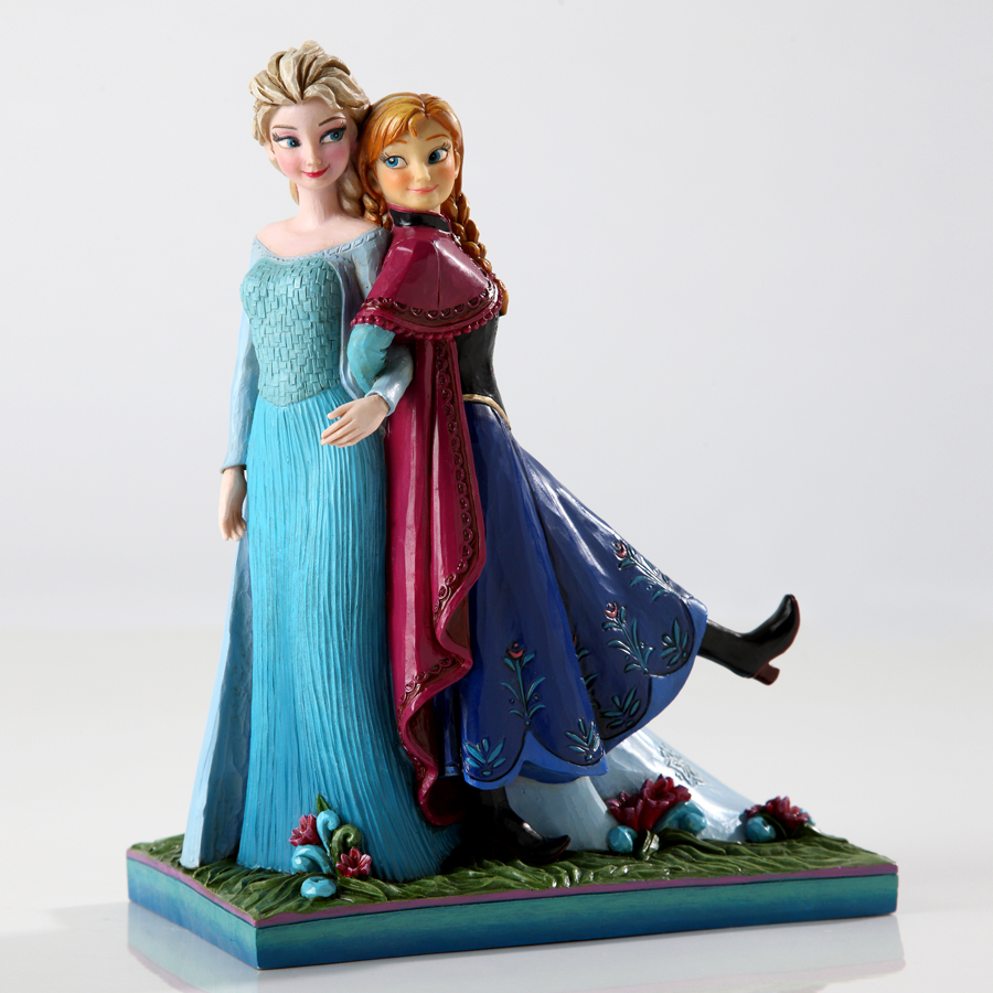 anna and elsa from frozen 4039079 sisters forever