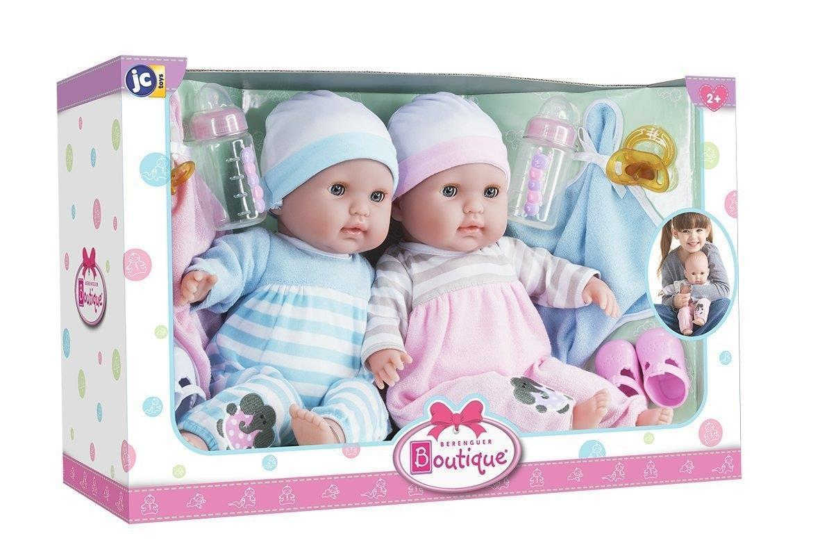 Jc Toys Berenguer Boutique 15 Quot Soft Body Twins Gift Set