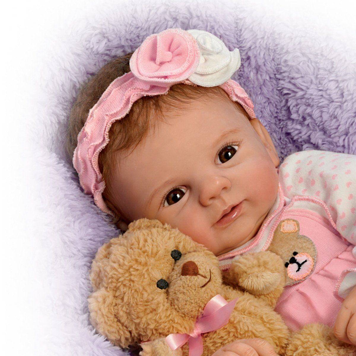 Unbearably Cute Doll Violet Parker So Truly Real Baby